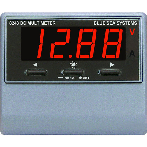 Blue Sea 8248 DC Digital Multimeter w/ Alarm - Reel Draggin' Tackle
