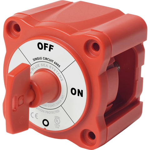 Blue Sea 6005 m-Series (Mini) Battery Switch Single Circuit ON/OFF - Reel Draggin' Tackle