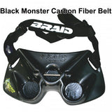 Monster Stealth Carbon Fiber Belt, by Braid Products, Inc. - Reel Draggin' Tackle - 1