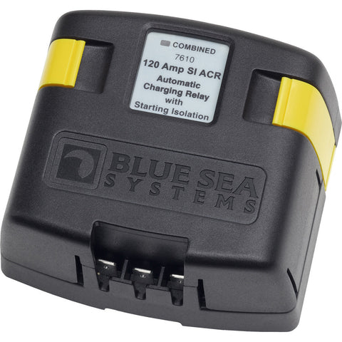 Blue Sea 7610 120 Amp SI-Series Automatic Charging Relay - Reel Draggin' Tackle