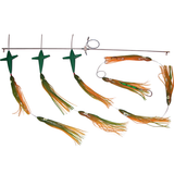 Spreader Bars -7.5 inch Shell Squid BIRD Bars - Reel Draggin' Tackle - 6