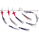 Spreader Bars -7.5 inch Shell Squid BIRD Bars - Reel Draggin' Tackle - 2