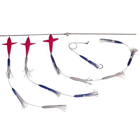 Spreader Bars -5 inch Shell Squid BIRD Bars - Reel Draggin' Tackle - 1