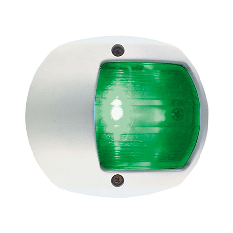 Perko LED Side Light - Green - 12V - White Plastic Housing - Reel Draggin' Tackle