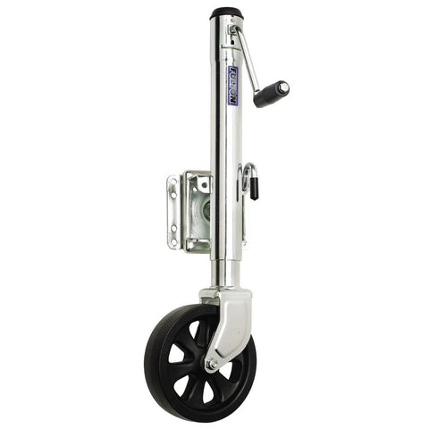 Fulton 1500 lbs. Swing Away Bolt on Single Wheel Jack - Reel Draggin' Tackle