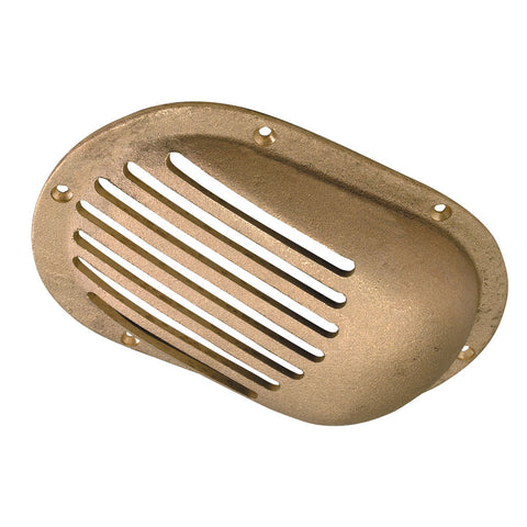 "Perko 5"" x 3-1/4"" Scoop Strainer Bronze MADE IN THE USA - Reel Draggin' Tackle"