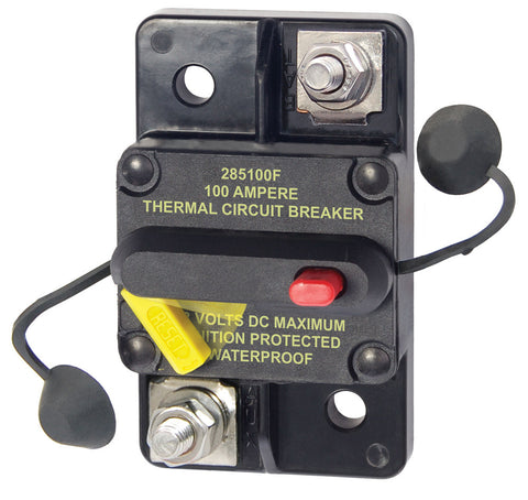 Blue Sea 7187 100 Amp Circuit Breaker Surface Mount 285 Series - Reel Draggin' Tackle