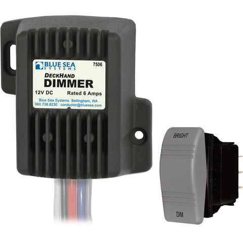 Blue Sea 7506 DeckHand Dimmer - 6 Amp/12V - Reel Draggin' Tackle