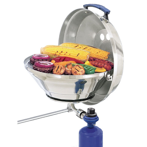 "Magma Marine Kettle Gas Grill Original 15"" w/Hinged Lid - Reel Draggin' Tackle"