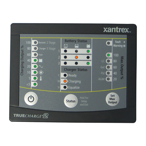 Xantrex TRUECHARGE™2 Remote Panel f/20 & 40 & 60 AMP (Only for 2nd generation of TC2 chargers) - Reel Draggin' Tackle