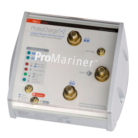 ProMariner ProIsoCharge Battery Isolator 250Amp 1-Alt 2-Bat - 12V - Reel Draggin' Tackle