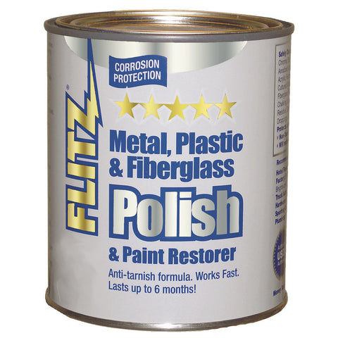 Flitz Polish - Paste - 1 Gallon Can - Reel Draggin' Tackle