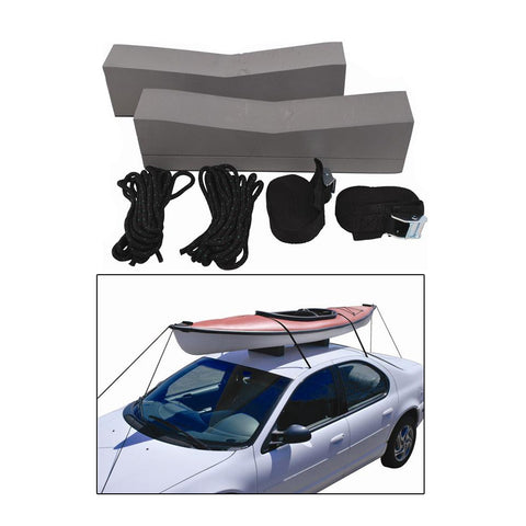 Attwood Kayak Car-Top Carrier Kit - Reel Draggin' Tackle