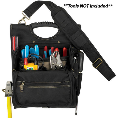 CLC 1509 21 Pocket Professional Electrician's Tool Pouch - Reel Draggin' Tackle