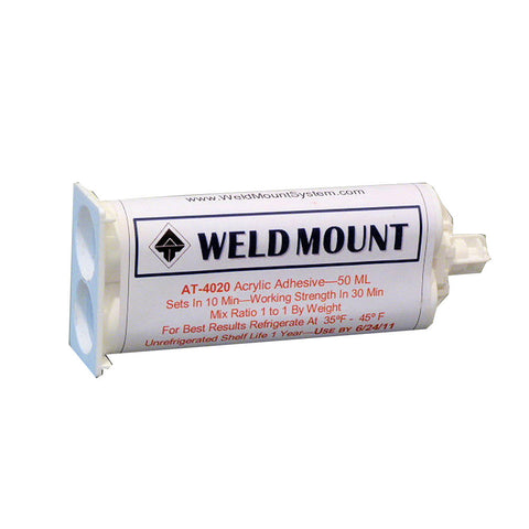 Weld Mount AT-4020 Acrylic Adhesive - Reel Draggin' Tackle