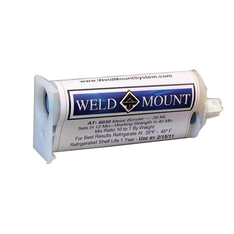 Weld Mount AT-6030 Metal Bond Adhesive - Reel Draggin' Tackle