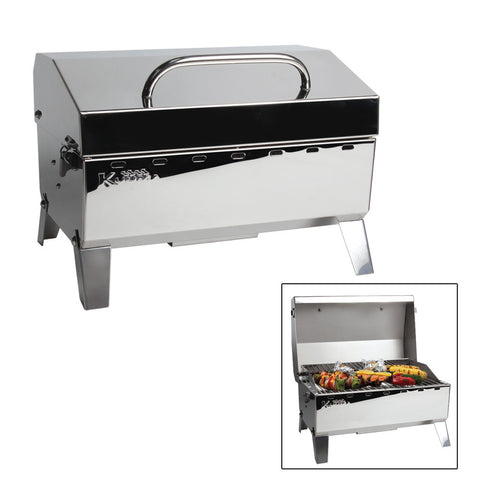 Kuuma Stow N' Go 125 Gas Grill - 9,000BTU w/Regulator - Reel Draggin' Tackle