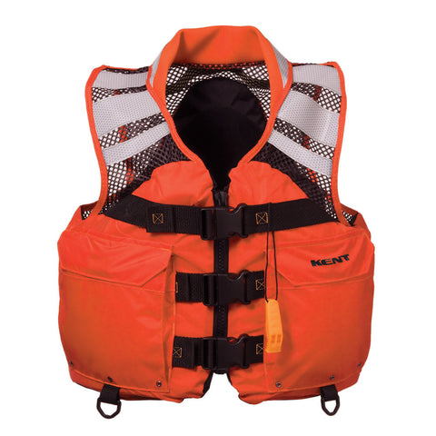 "Kent Mesh Search and Rescue ""SAR"" Commercial Vest - XXLarge - Reel Draggin' Tackle"