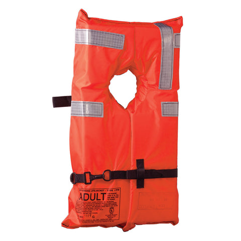 Kent Type I Collar Style Life Jacket - Adult Universal - Reel Draggin' Tackle