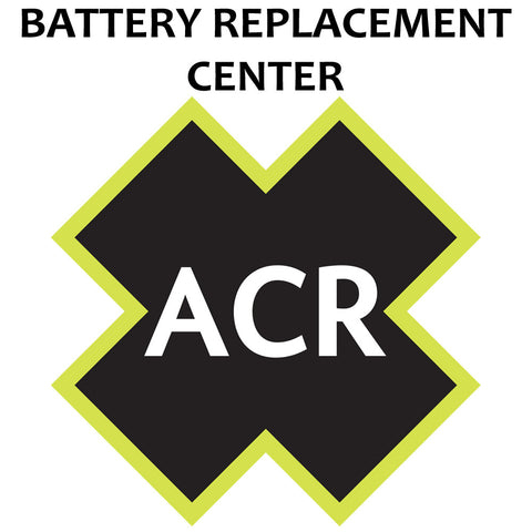 ACR FBRS 2874 Battery Replacement Service - Satellite3 406™ - Reel Draggin' Tackle - 1