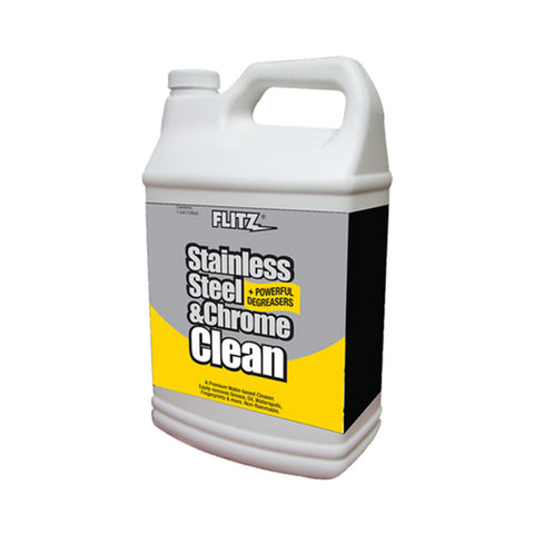 Flitz Stainless Steel & Chrome Cleaner w/Degreaser - 1 Gallon - Reel Draggin' Tackle