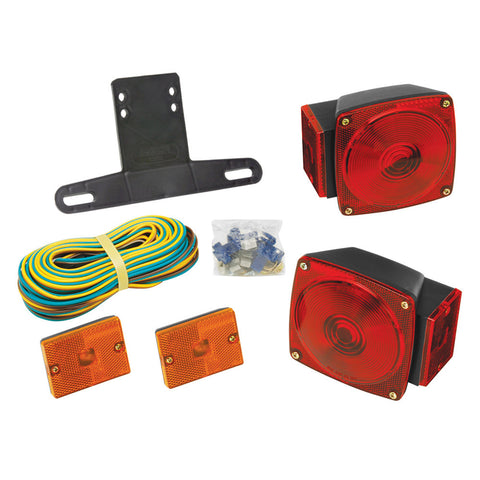"Wesbar Under 80"" Combination Trailer Light Kit w/Sidemarkers - Reel Draggin' Tackle"