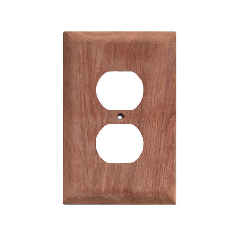 Whitecap Teak Outlet Cover/Receptacle Plate - 2 Pack - Reel Draggin' Tackle