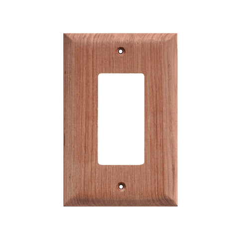 Whitecap Teak Ground Fault Outlet Cover/Receptacle Plate - 2 Pack - Reel Draggin' Tackle