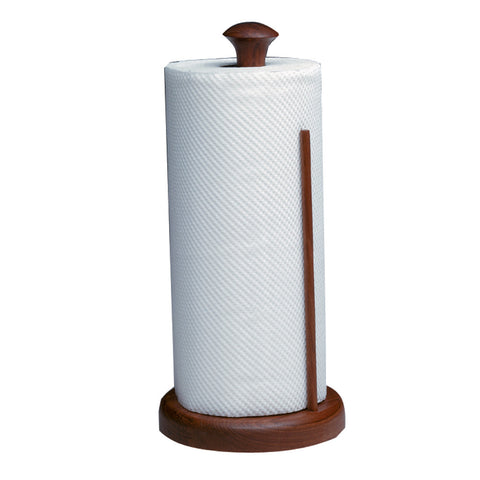 Whitecap Teak Stand-Up Paper Towel Holder - Reel Draggin' Tackle