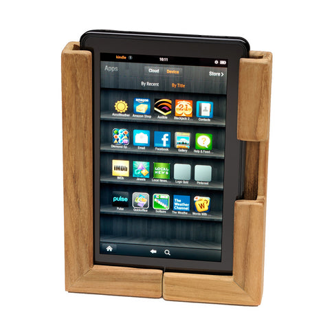 Whitecap Teak Adjustable Tablet Rack - Reel Draggin' Tackle