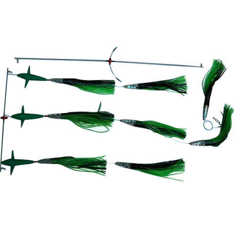 Spreader Bars -10 inch Slammer BIRD Bars - Reel Draggin' Tackle - 1