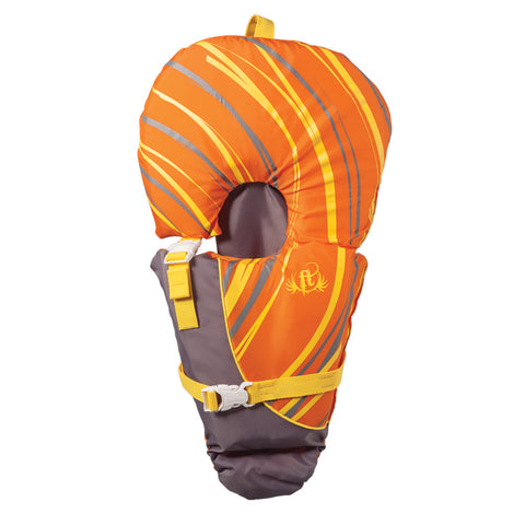 Full Throttle Baby-Safe Vest - Infant to 30lbs - Orange/Grey - Reel Draggin' Tackle