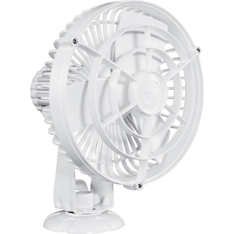 "Caframo Kona 817 12V 3-Speed 7"" Weatherproof Fan - White - Reel Draggin' Tackle"