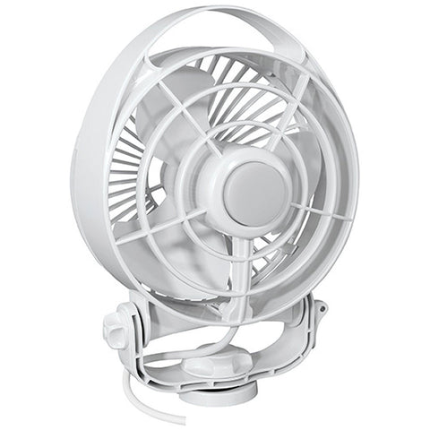 "Caframo Maestro 12V 3-Speed 6"" Marine Fan w/LED Light - White - Reel Draggin' Tackle"