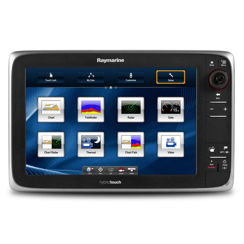Raymarine E127 MFD Display with built in Fishfinder - NOAA Vector Charts- *Remanufactured - Reel Draggin' Tackle