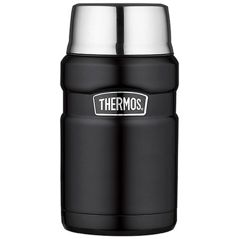 Thermos Stainless Steel King Food Jar - Black - 24 oz. - Reel Draggin' Tackle