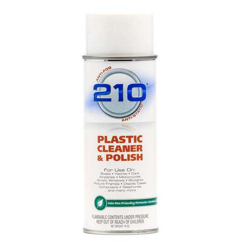 Camco 210 Plastic Cleaner Polish 14oz Spray - Reel Draggin' Tackle