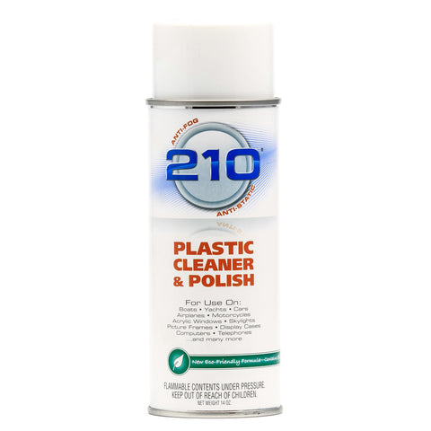Camco 210 Plastic Cleaner Polish - 14oz Spray - Case of 12 - Reel Draggin' Tackle