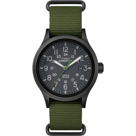 Timex Expedition Scout Slip-Thru Watch - Green - Reel Draggin' Tackle