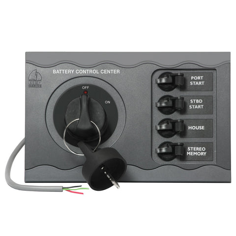 BEP Battery Control Center f/Triple Engine Remote - Reel Draggin' Tackle