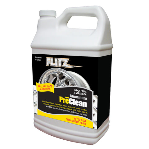 Flitz Metal Pre-Clean - All Metals Including Stainless Steel - Gallon Refill - Reel Draggin' Tackle