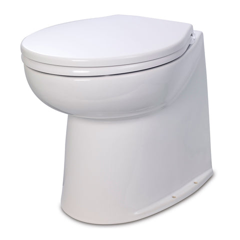 "Jabsco 17"" Deluxe Flush Raw Water Electric Toilet - 12V"