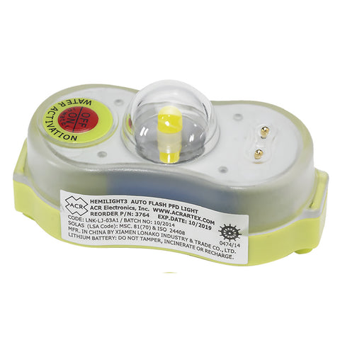 ACR HemiLight™ 3 - Automatic Survivor Locator Light