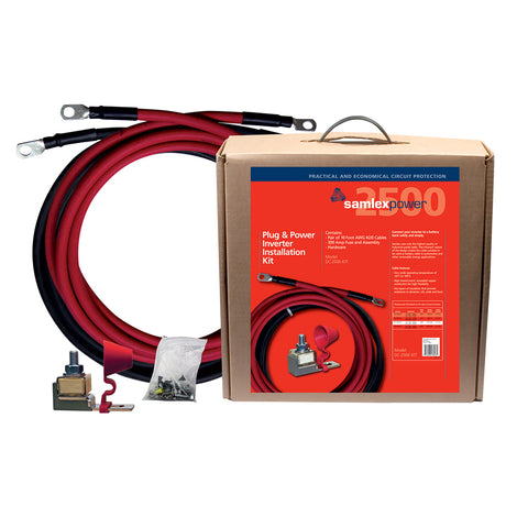 300A Inverter Installation Kit f/2500W Inverter