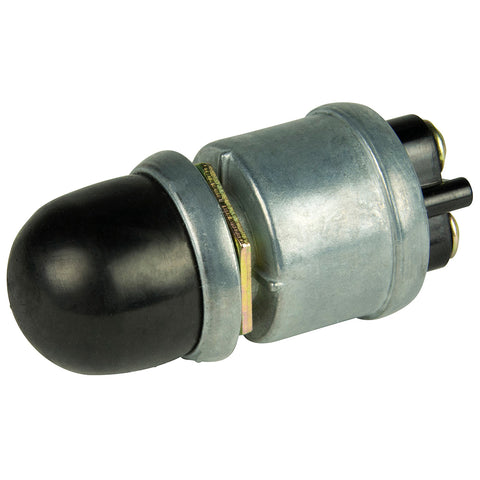 BEP 2-Position SPST Heavy-Duty Push Button Switch - OFF/(ON) - 35 Amp