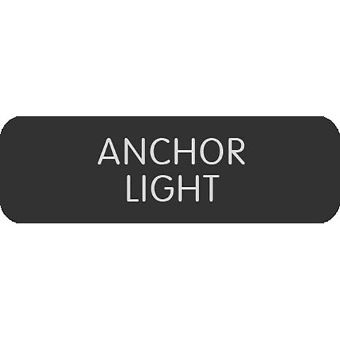 "Blue Sea Large Format Label - ""Anchor Light"""