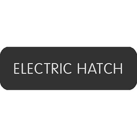 "Blue Sea Large Format Label - ""Electric Hatch"""