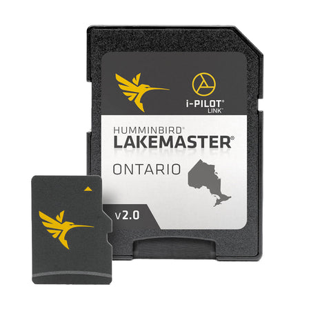 Humminbird LakeMaster Chart - Ontario w/Woods & Rainy Lakes - Version 2
