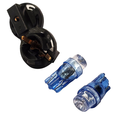 "Faria Replacement Bulb f/4"" Gauges - Blue - 2 Pack"