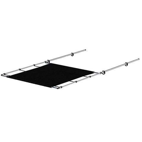 "SureShade PTX Power Shade - 69"" Wide - Stainless Steel - Black"